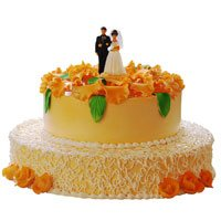 Online Cake Delivery in Jammu - Tier Cake